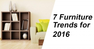 7 Furniture Trends for 2016